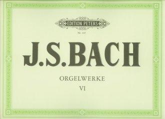 Orgelwerke VI - okładka książki