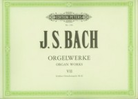 Orgelwerke VII - okładka książki