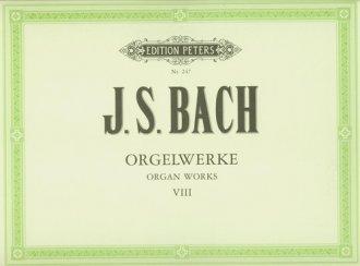 Orgelwerke VIII - okładka książki