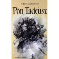 Pan Tadeusz po kaszubsku - okładka książki