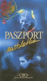 Paszport nastolatka - okładka książki