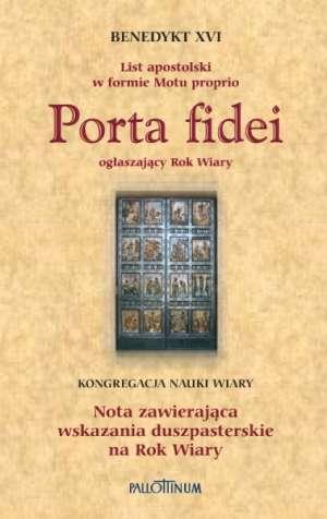 Porta fidei. List apostolski w - okładka książki