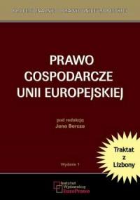 Prawo gospodarcze Unii Europejskiej - okładka książki