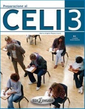 Preparazione al CELI 3 B2 Livello - okładka podręcznika