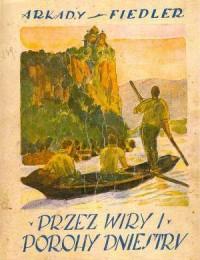 Przez wiry i porochy Dniestru - okładka książki