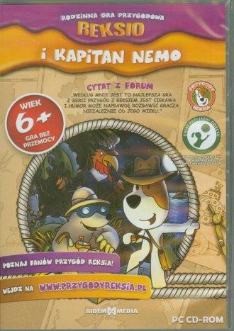 Reksio i Kapitan Nemo - pudełko programu