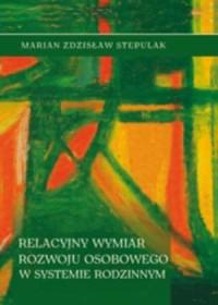 Relacyjny wymiar rozwoju osobowego - okładka książki