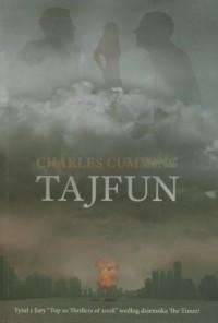 Tajfun - okładka książki