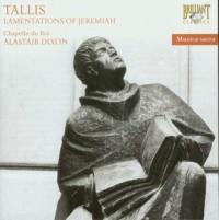 Tallis: Lamentations of Jeremiah - okładka płyty