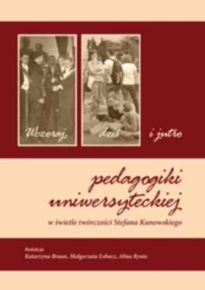 Wczoraj, dziś i jutro pedagogiki - okładka książki