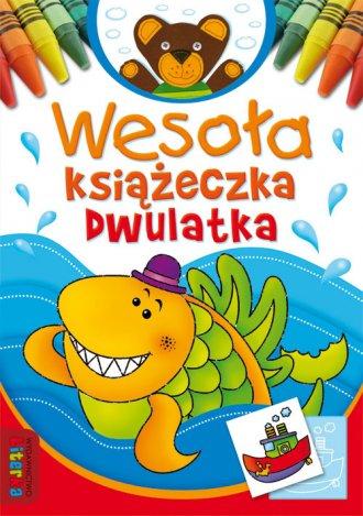 Wesoła książeczka dwulatka - okładka podręcznika