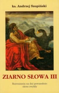 Ziarno Słowa III - okładka książki