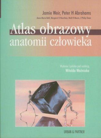 Atlas obrazowy anatomii człowieka - okładka książki