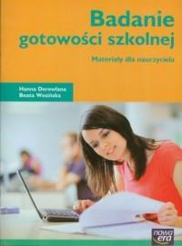 Badanie gotowości szkolnej. Materiały - okładka podręcznika