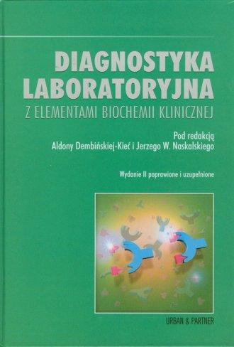 Diagnostyka laboratoryjna z elementami - okładka książki
