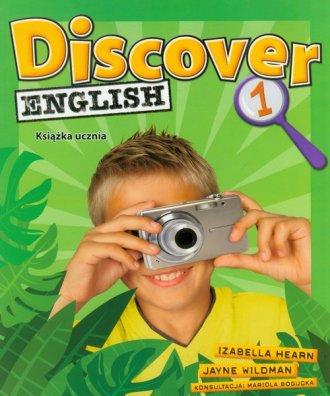 Discover English 1. Książka ucznia - okładka podręcznika