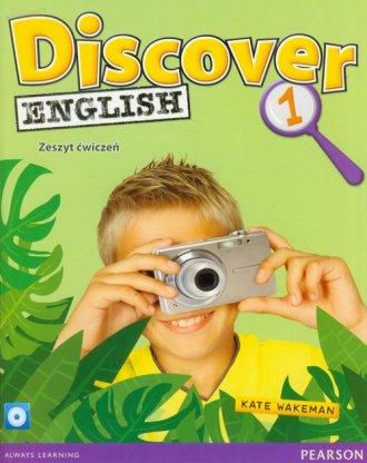 Discover English 1. Zeszyt ćwiczeń - okładka podręcznika