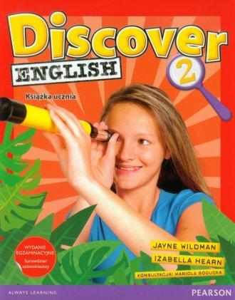 Discover English 2. Książka ucznia - okładka podręcznika