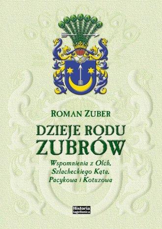 Dzieje rodu Zubrów - okładka książki