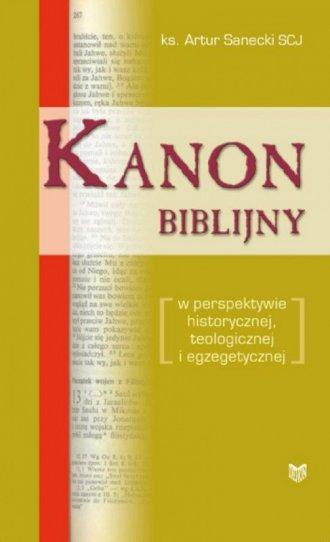Kanon biblijny w perspektywie historycznej, - okładka książki