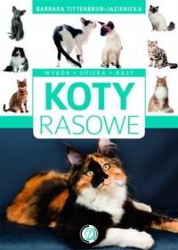 Koty rasowe - okładka książki