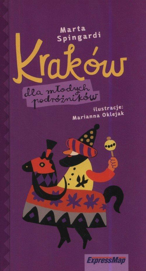 Kraków dla młodych podróżników - okładka książki