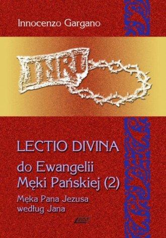 Lectio Divina 10 do Ewangelii Męki - okładka książki