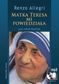Matka Teresa mi powiedziała - Renzo - pudełko audiobooku