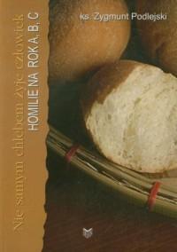 Nie samym chlebem żyje człowiek. - okładka książki