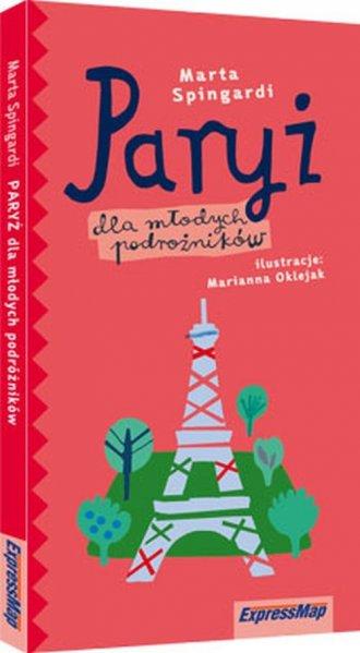 Paryż dla młodych podróżników - okładka książki