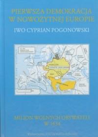 Pierwsza demokracja w nowożytnej - okładka książki