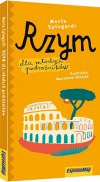 Rzym dla młodych podróżników - okładka książki