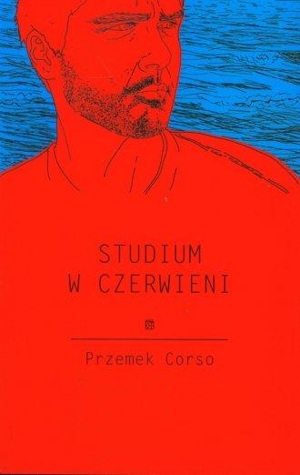 Studium w czerwieni - okładka książki