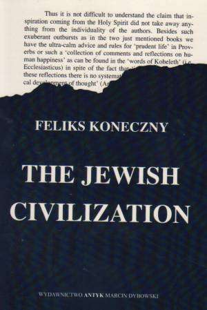 The Jewish Civilization - okładka książki