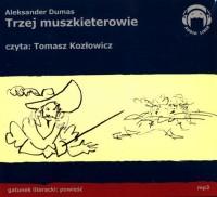 Trzej Muszkieterowie - pudełko audiobooku