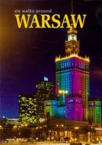 Warszawa. Sześć spacerów po mieście (wersja ang.) - okładka książki