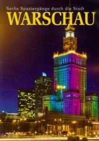 Warszawa. Sześć spacerów po mieście (wersja niem.) - okładka książki