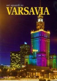 Warszawa. Sześć spacerów po mieście (wersja wł.) - okładka książki