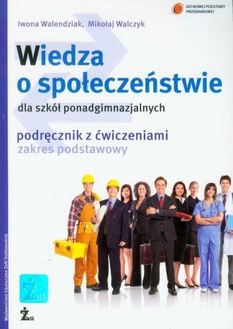 Wiedza o społeczeństwie dla szkół - okładka podręcznika
