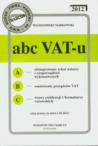 Abc VAT-u 2012 - okładka książki
