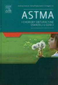 Astma i choroby obturacyjne oskrzeli u dzieci - okładka książki