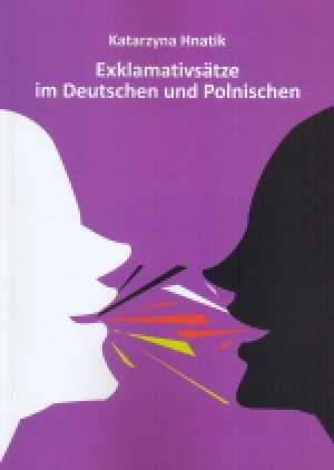 Exklamativsatze im Deutschen und - okładka książki