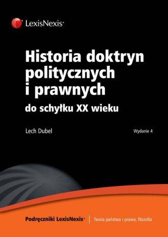 Historia doktryn politycznych i - okładka książki