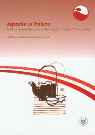 Japonia w Polsce - okładka książki