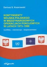Kontyngenty Wojska Polskiego w - okładka książki