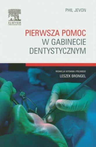 Pierwsza pomoc w gabinecie dentystycznym - okładka książki
