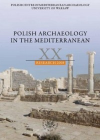 Polish Archaeology in the Mediterranean XX - okładka książki