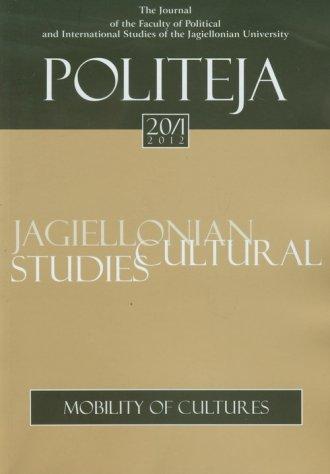 Politeja nr 20/1/2012. Mobility - okładka książki