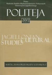 Politeja nr 20/2/2012. Współczesna przestrzeń tożsamości - okładka książki