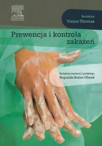 Prewencja i kontrola zakażeń - okładka książki